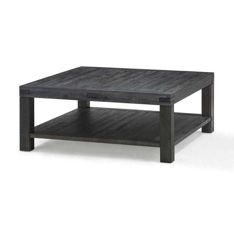 Meadow Solid Wood Coffee Table in Graphite - What A Room Furniture