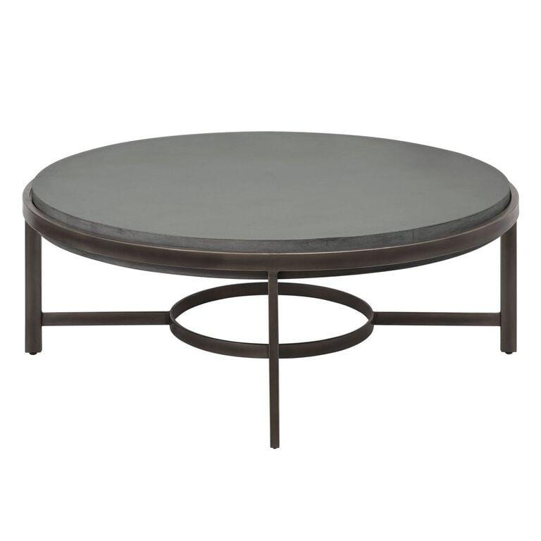 Barcelona Round Concrete Coffee Table - What A Room Furniture