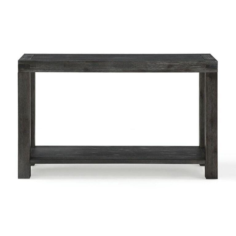 Meadow Solid Console Table in Graphite - What A Room Furniture