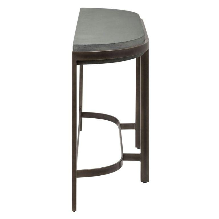 Barcelona Concrete Console Table - What A Room Furniture