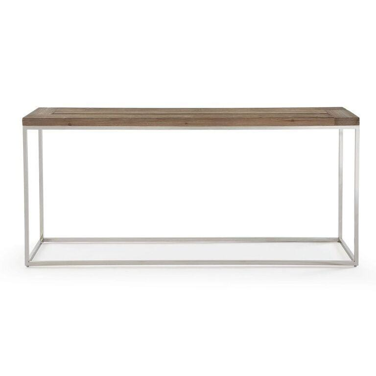Ace Reclaimed Wood Console Table - What A Room Furniture