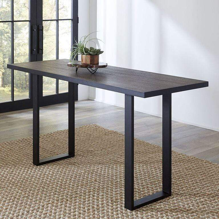 Hudson Counter Table in Shadow Grey