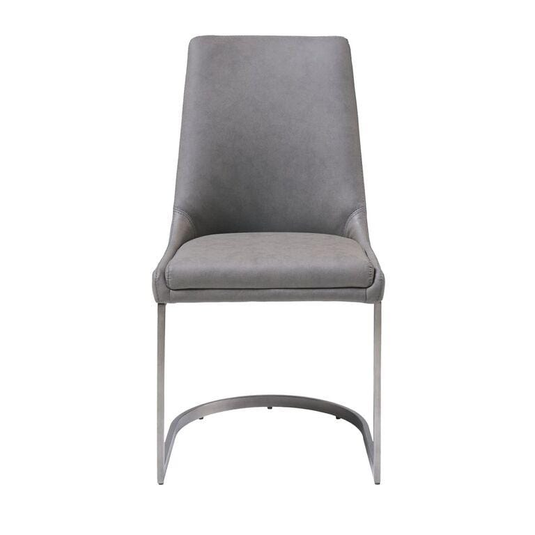 Oxford Dining Chair in Basalt Grey - What A Room Furniture