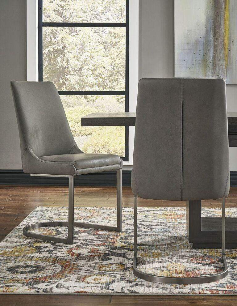 Oxford Dining Chair in Basalt Grey - What A Room