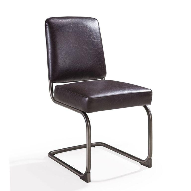 State Breuer-style Dining Chair in Chocolate - Set of 2 - What A Room Furniture