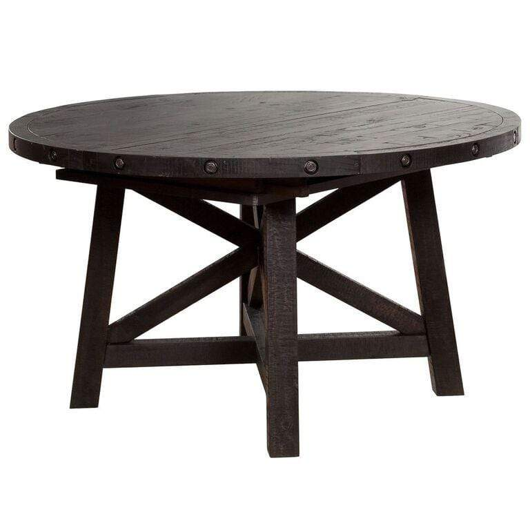 Yosemite Solid Wood Round Extension Table - What A Room