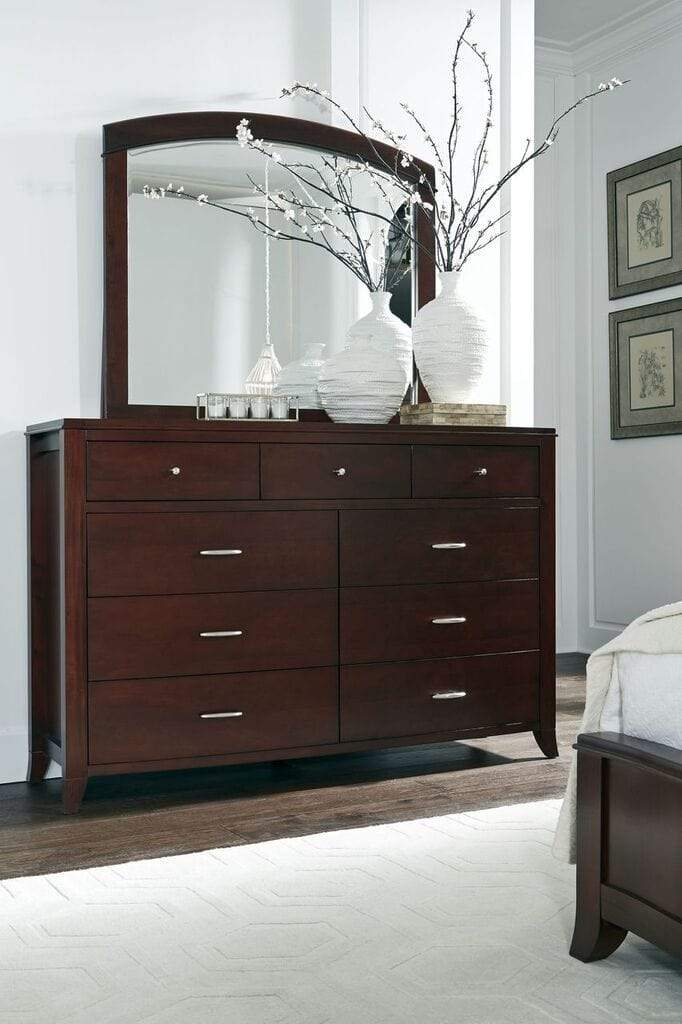 Brighton Nine Drawer Dresser In Cinnamon - What A Room Furniture