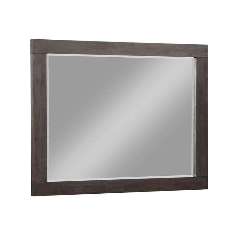 Heath Beveled Glass Mirror in Basalt Grey - What A Room