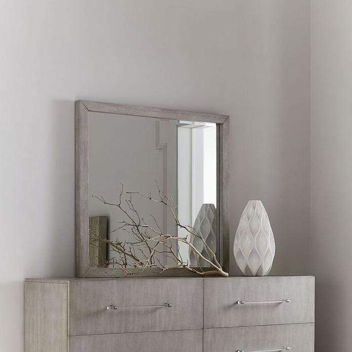 Argento Dresser Mirror in Misty Grey