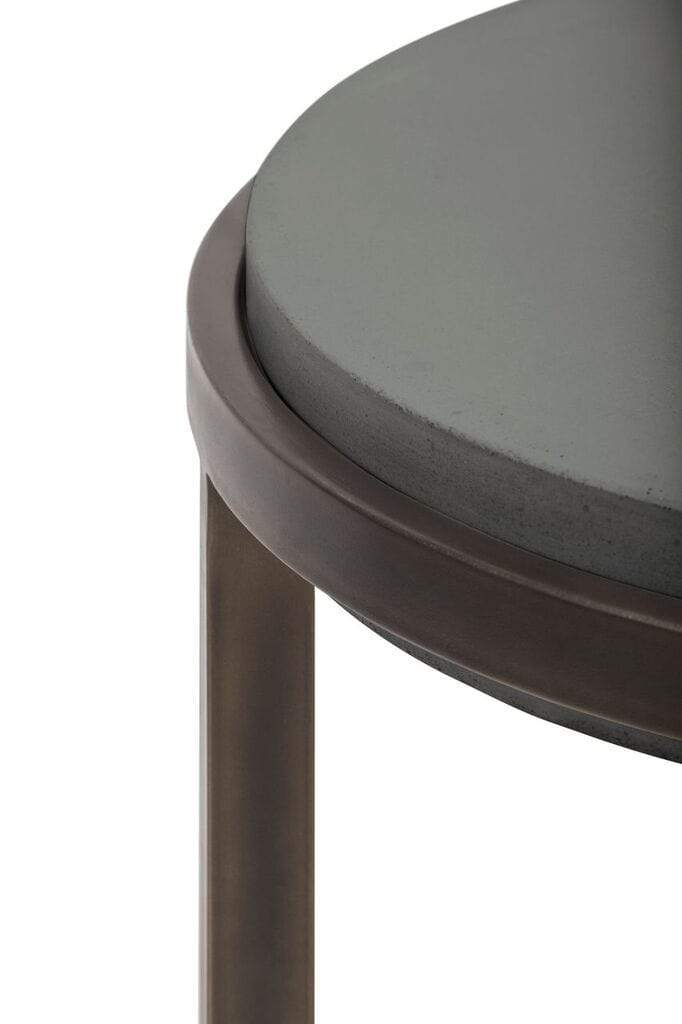 Barcelona Round Concrete End Table