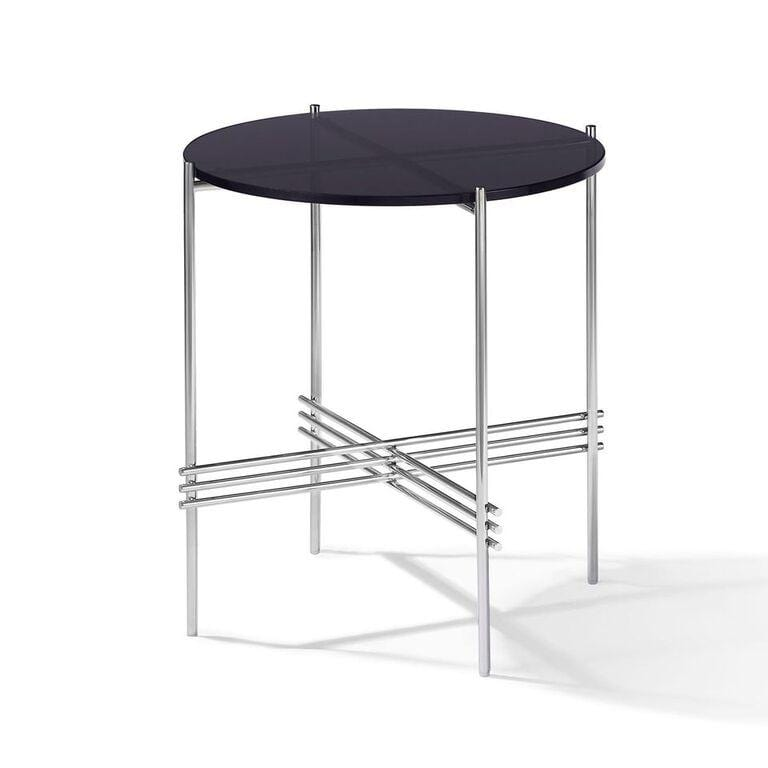 Cedric Smoked Glass End Table - What A Room Furniture