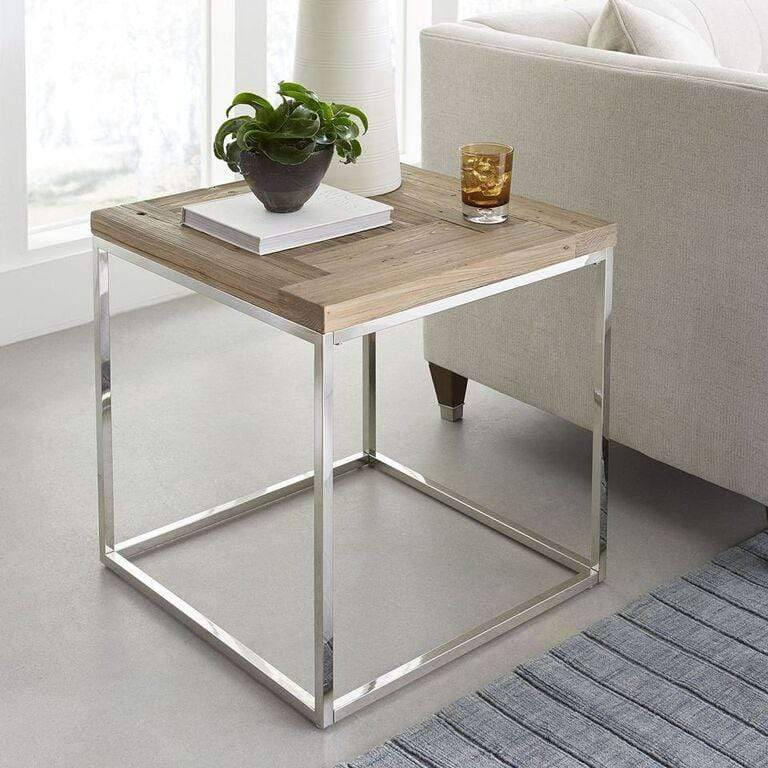 Ace Reclaimed Wood End Table - What A Room Furniture