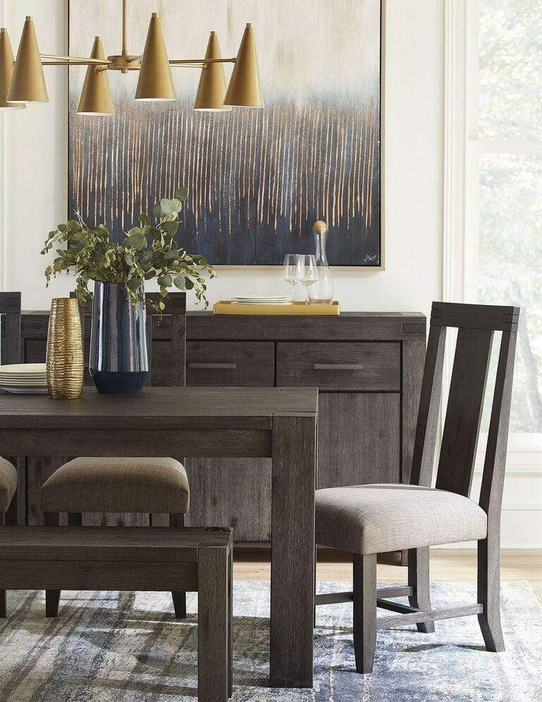 Meadow Solid Wood Three Drawer Three Door Sideboard in Graphite - What A Room