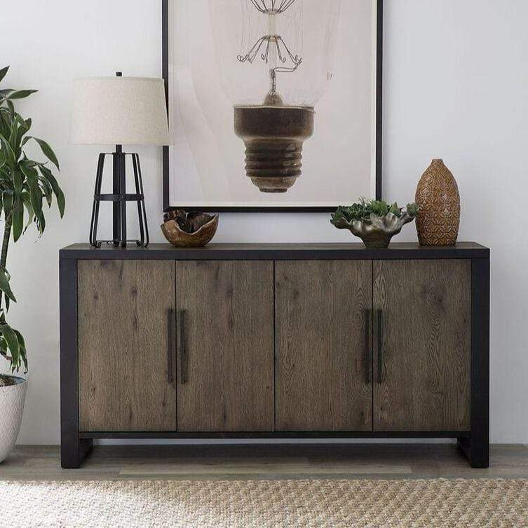 Hudson Sideboard in Shadow Grey - What A Room Furniture