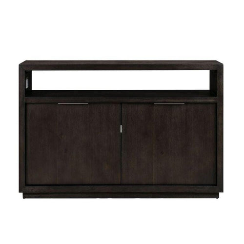 "Oxford Solid Wood 54"" Media Console in Graphite"