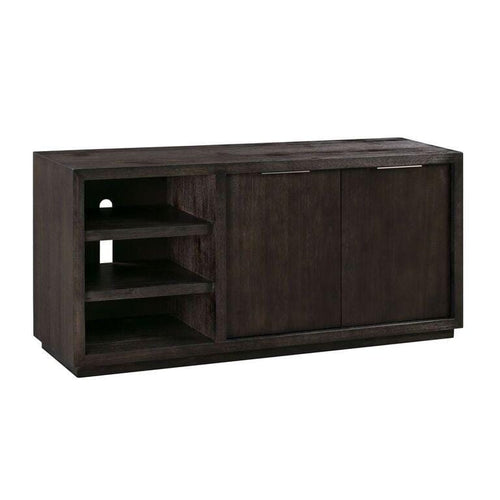 "Oxford Solid Wood 64"" Media Console in Graphite"