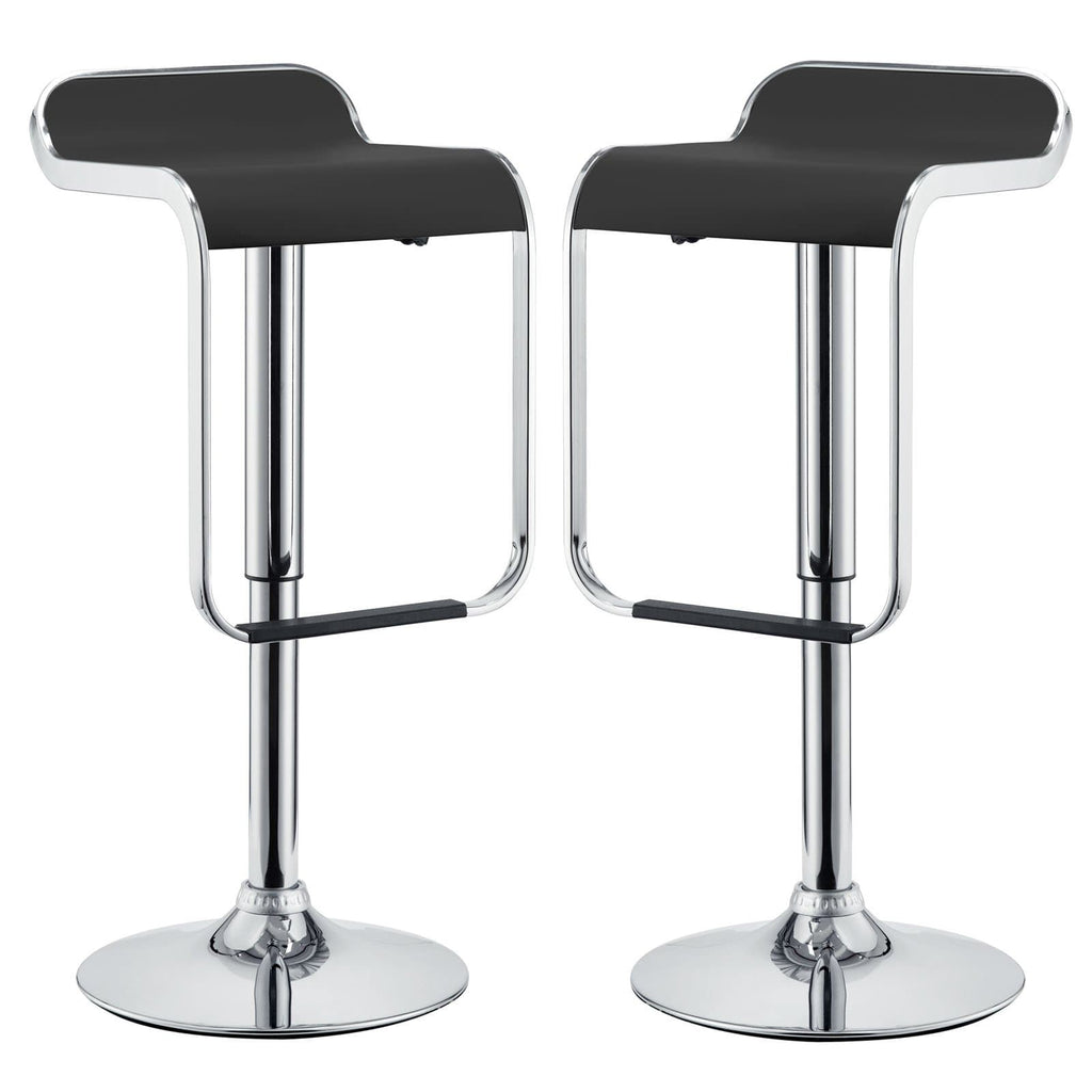 LEM Bar Stool Vinyl Set of 2 - What A Room Furniture