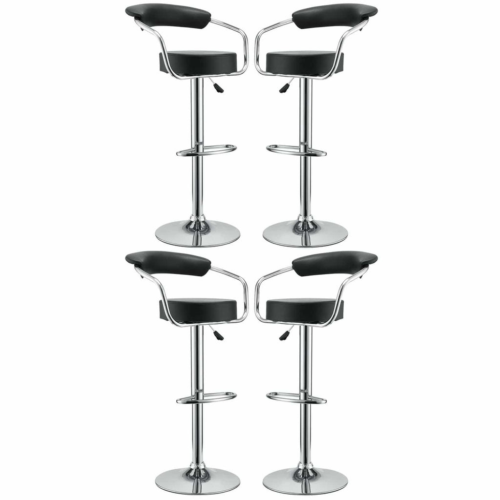 Diner Bar Stool Set of 4 - What A Room Furniture