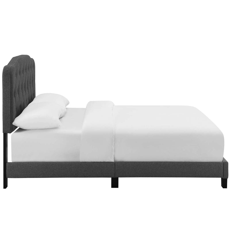 Amelia Twin Upholstered Fabric Bed - What A Room Furniture