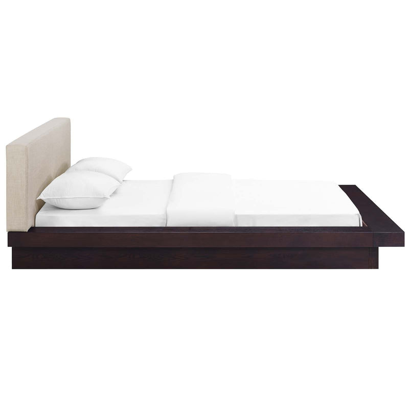 Freja Queen Fabric Platform Bed