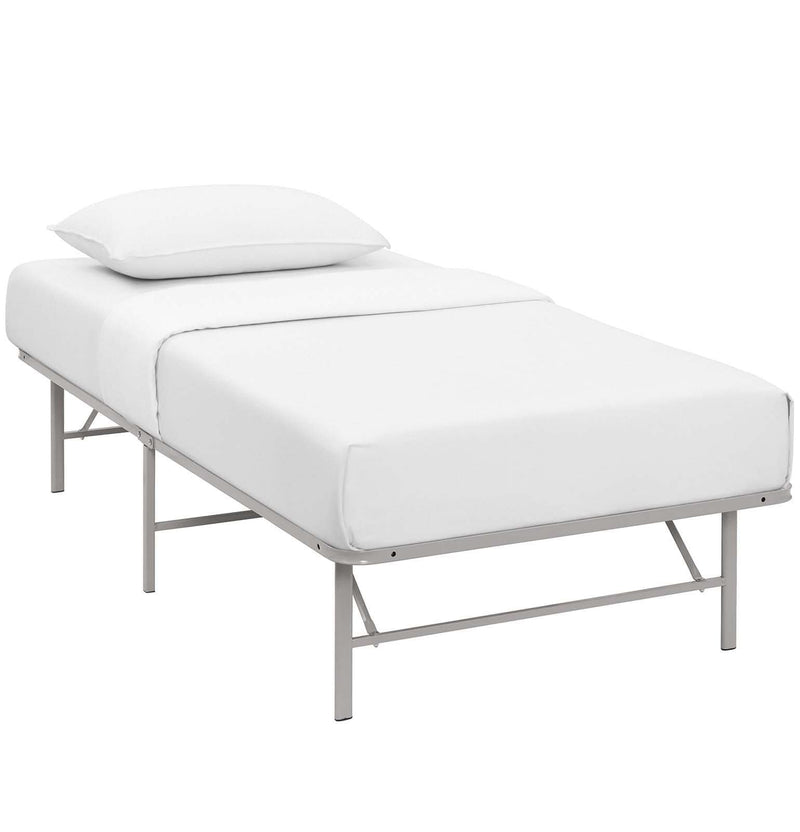 Horizon Twin Stainless Steel Bed Frame - What A Room Furniture