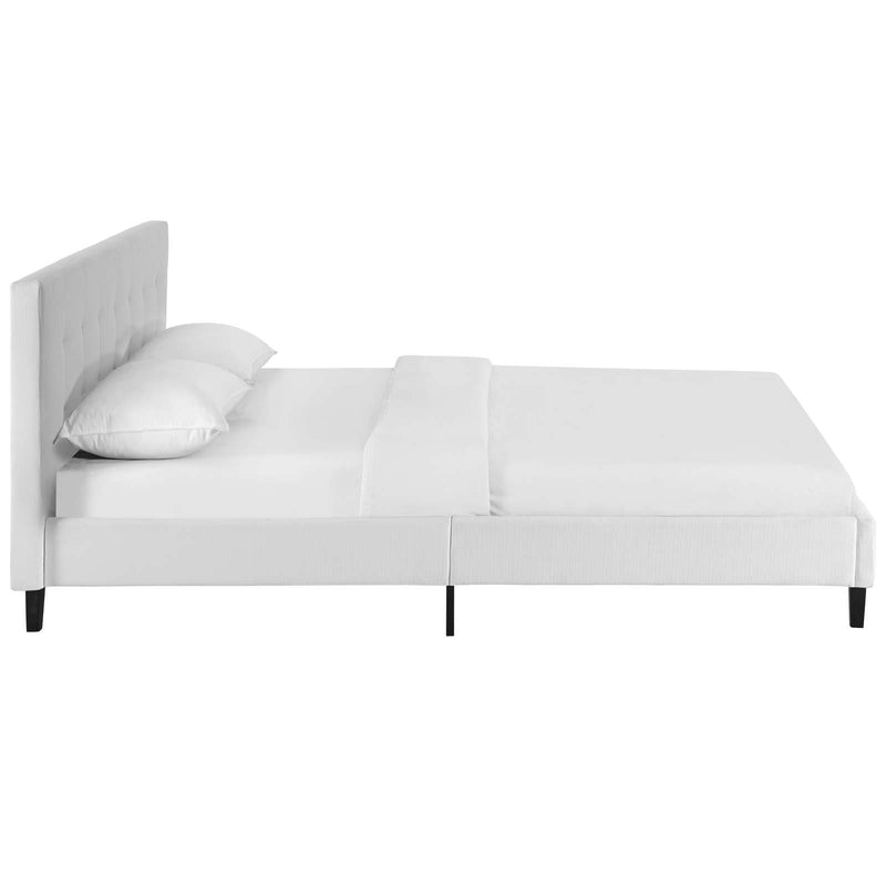 Linnea Queen Fabric Bed - What A Room Furniture