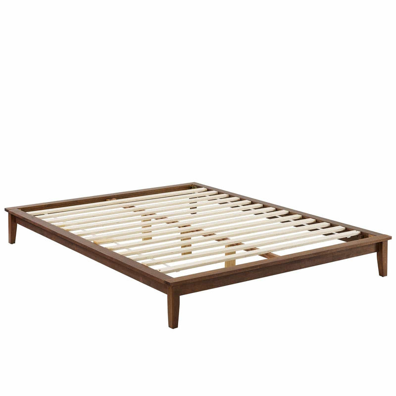 Lodge Full Wood Platform Bed Frame