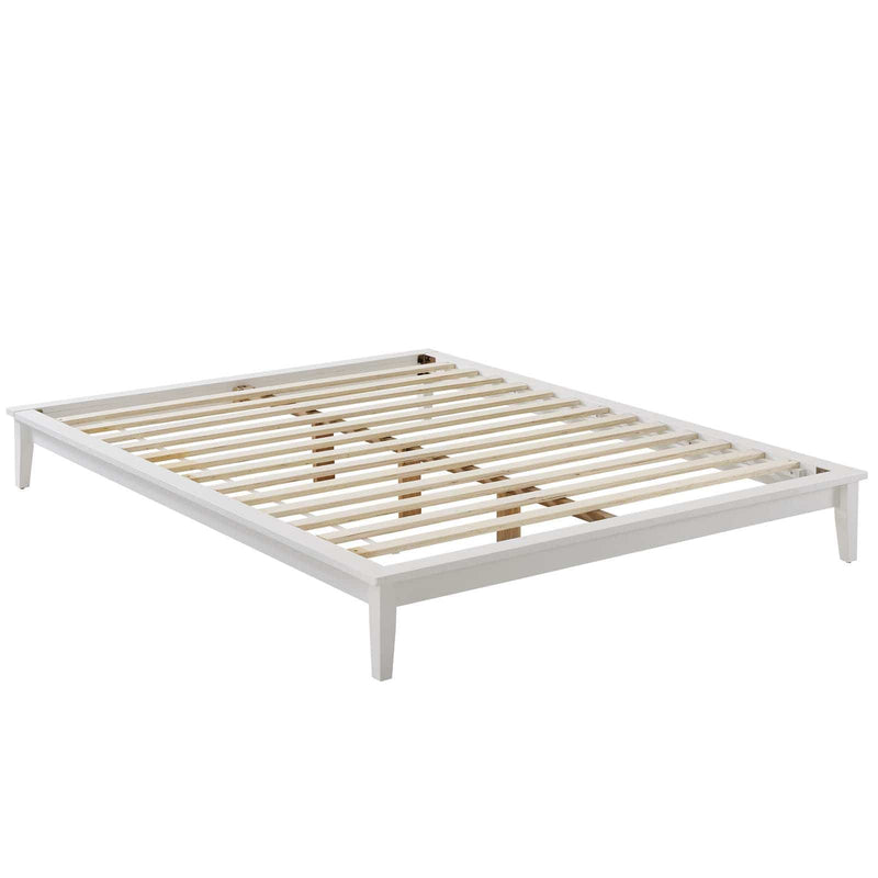 Lodge Full Wood Platform Bed Frame - What A Room Furniture