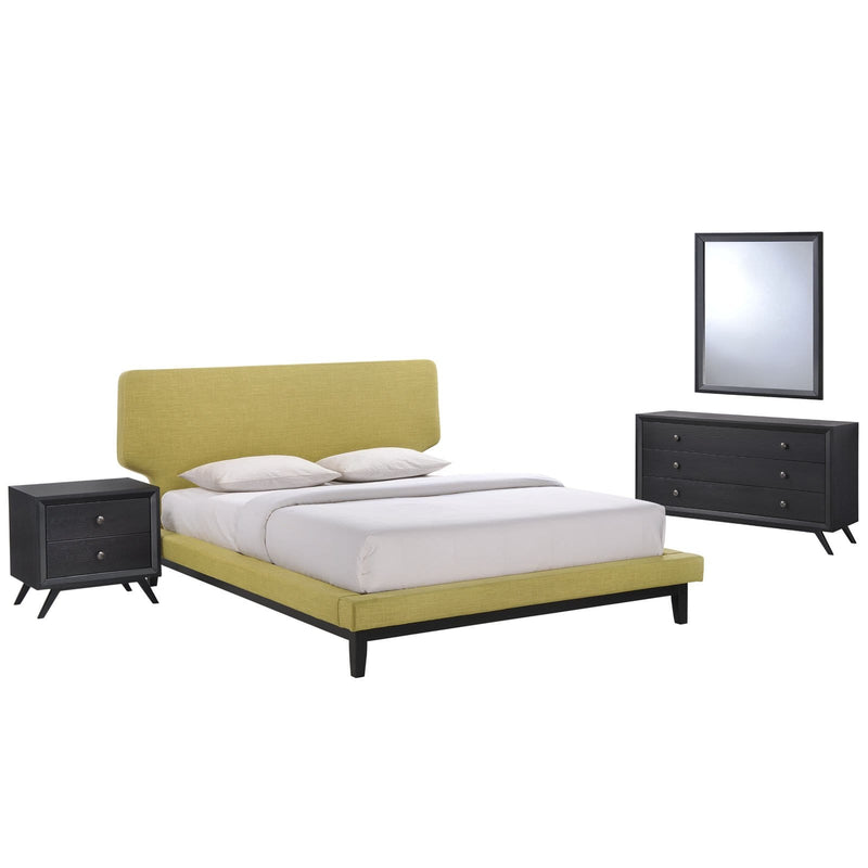 Bethany 4 Piece Queen Bedroom Set - What A Room