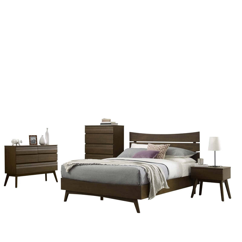 Everly 5 Piece Queen Bedroom Set - What A Room Furniture