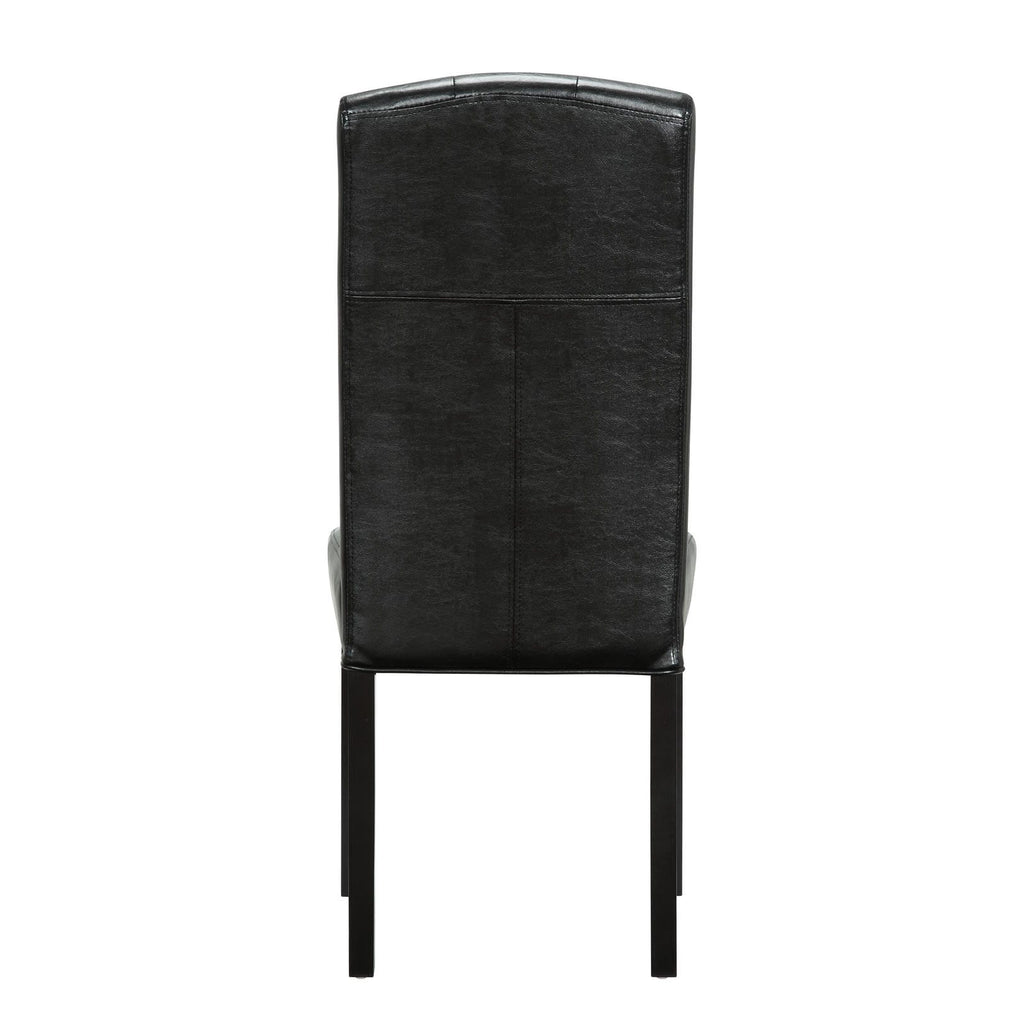 Perdure Dining Chairs Vinyl Set of 2 - What A Room Furniture
