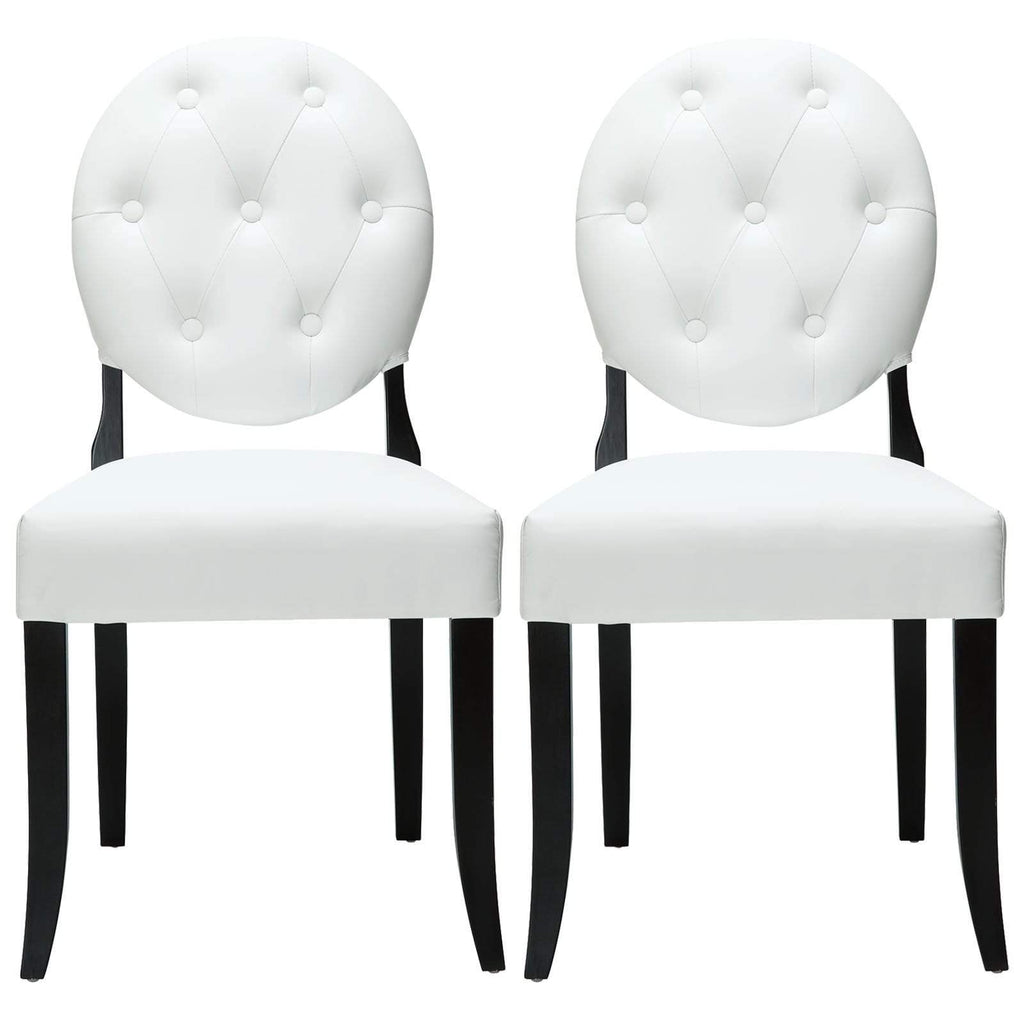 Button Dining Chairs - What A Room Furniture