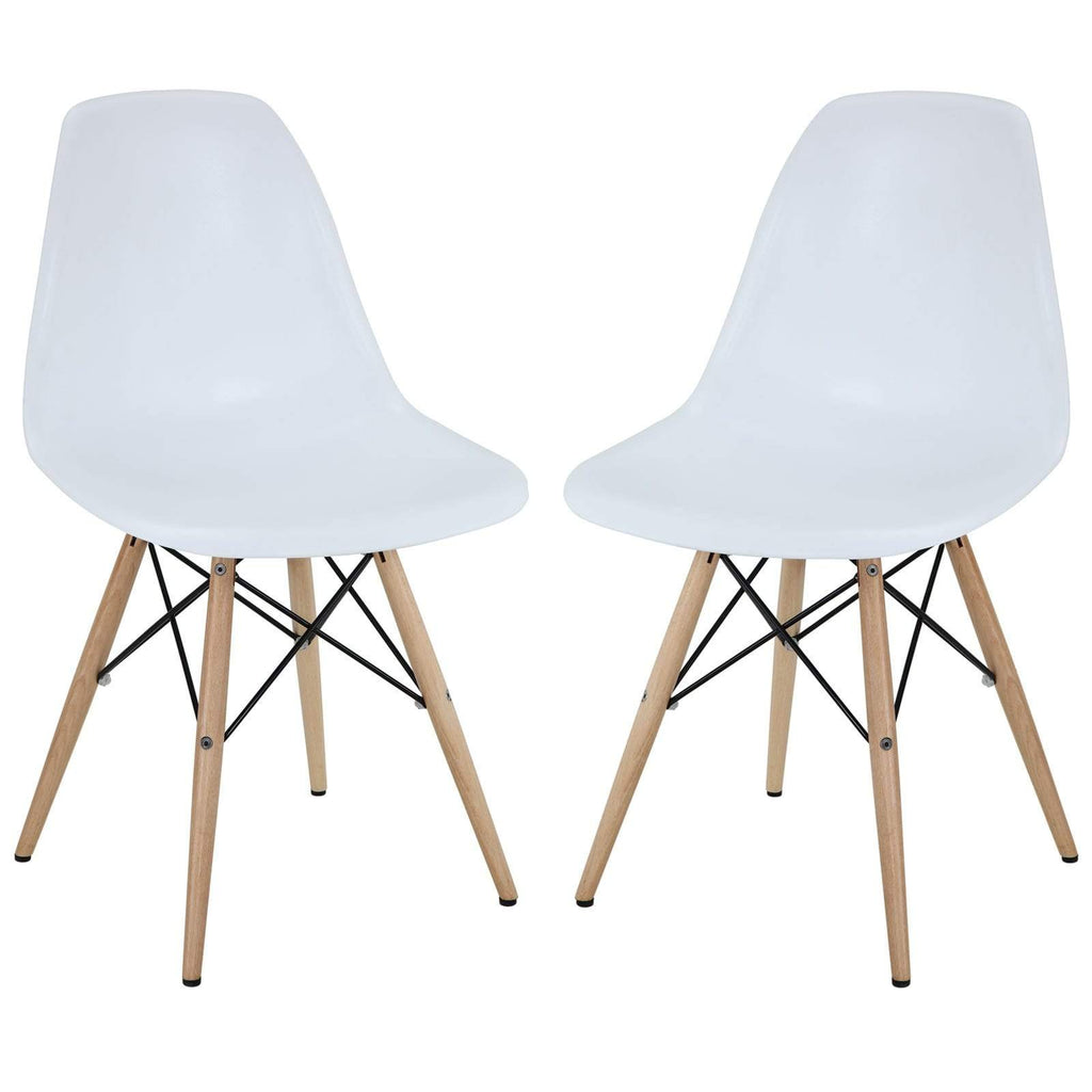 Pyramid Dining Side Chairs Set of 2 - What A Room Furniture