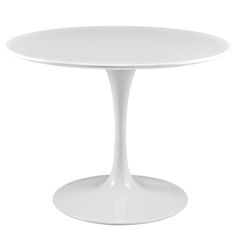 "Lippa 40"" Round Wood Top Dining Table - What A Room Furniture"
