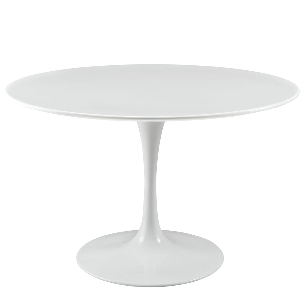 "Lippa 47"" Round Wood Top Dining Table - What A Room Furniture"