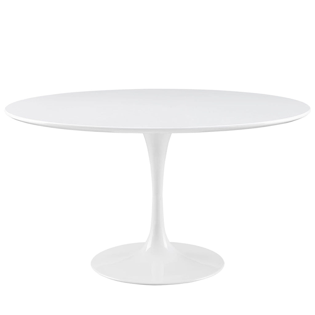 "Lippa 54"" Round Wood Top Dining Table - What A Room Furniture"