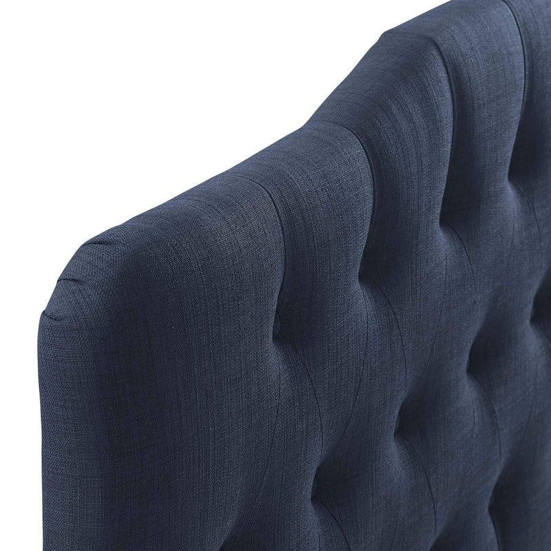 Annabel Queen Upholstered Fabric Headboard - What A Room
