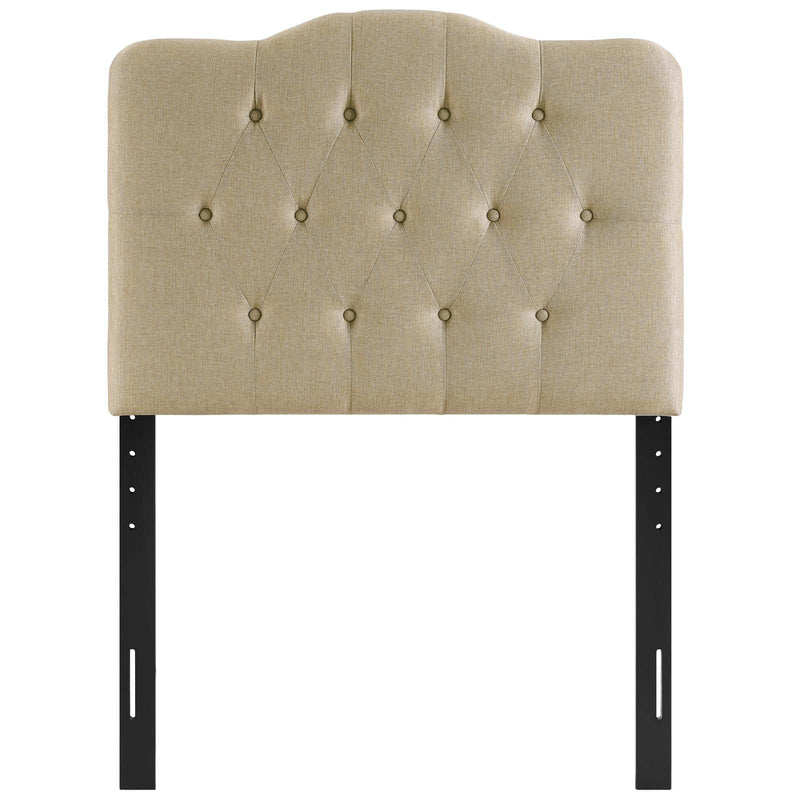 Annabel Twin Upholstered Fabric Headboard