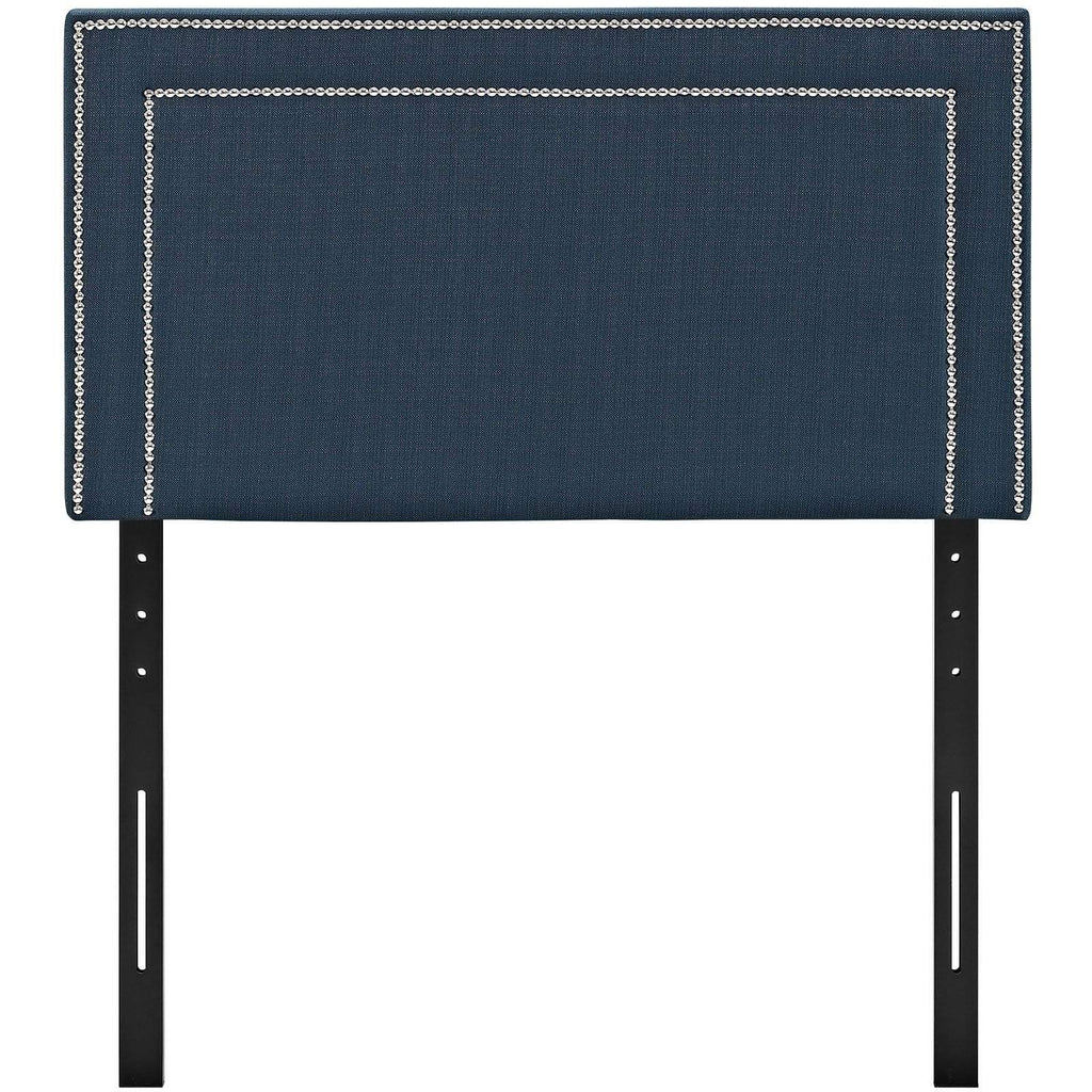 Jessamine Twin Upholstered Fabric Headboard - What A Room Furniture