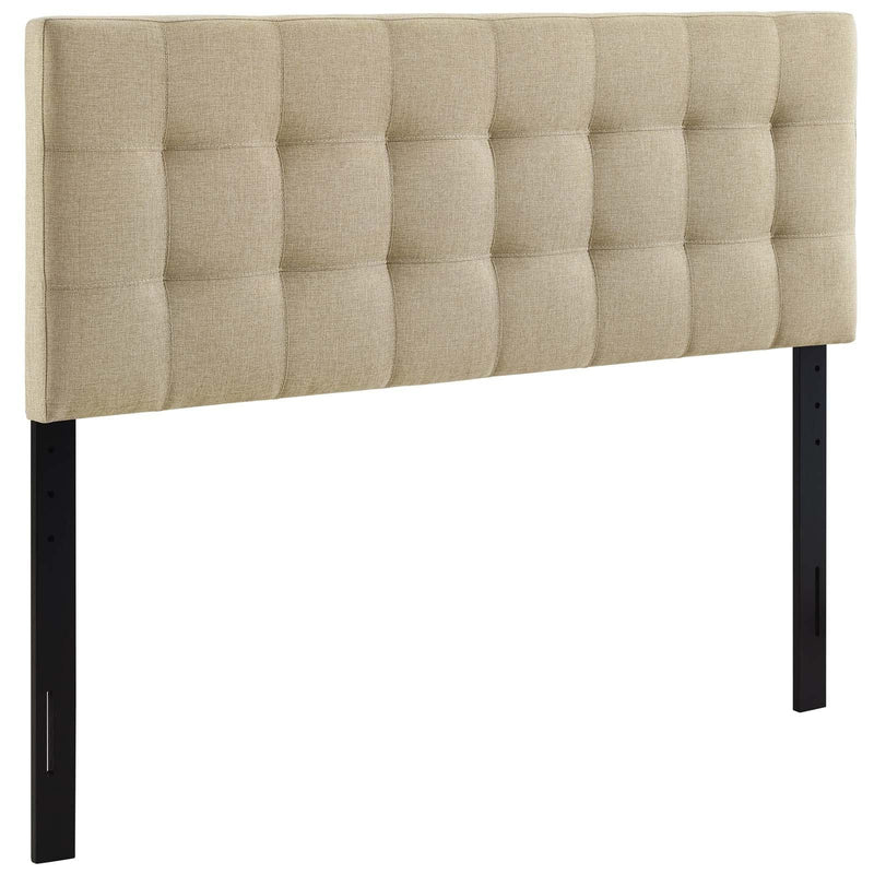 Region Queen Upholstered Fabric Headboard