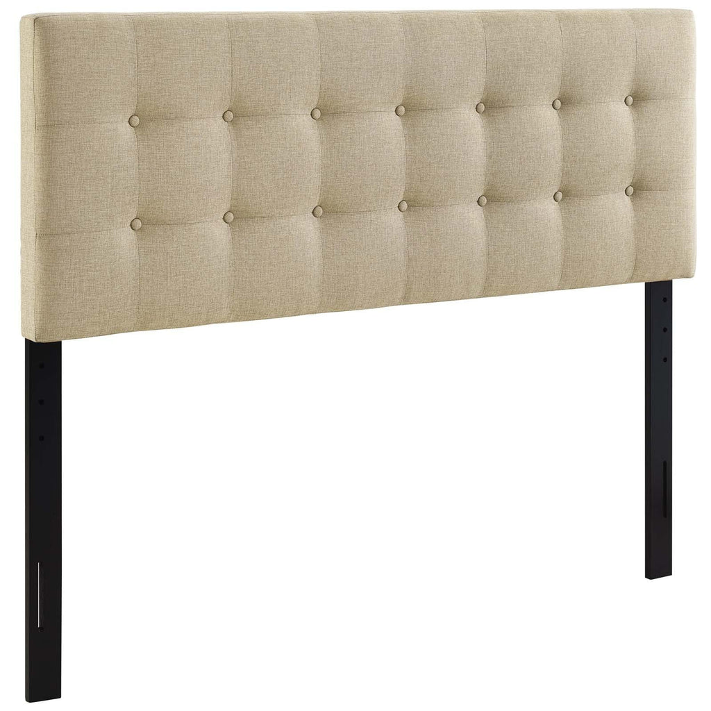 Emily Queen Upholstered Fabric Headboard - What A Room Furniture