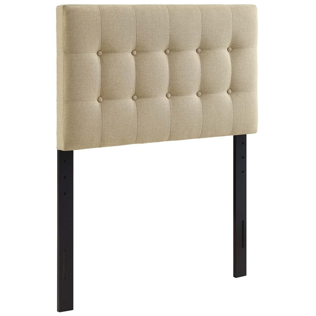 Emily Twin Upholstered Fabric Headboard - What A Room Furniture