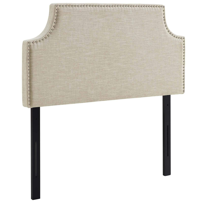 Laura Twin Upholstered Fabric Headboard - What A Room Furniture