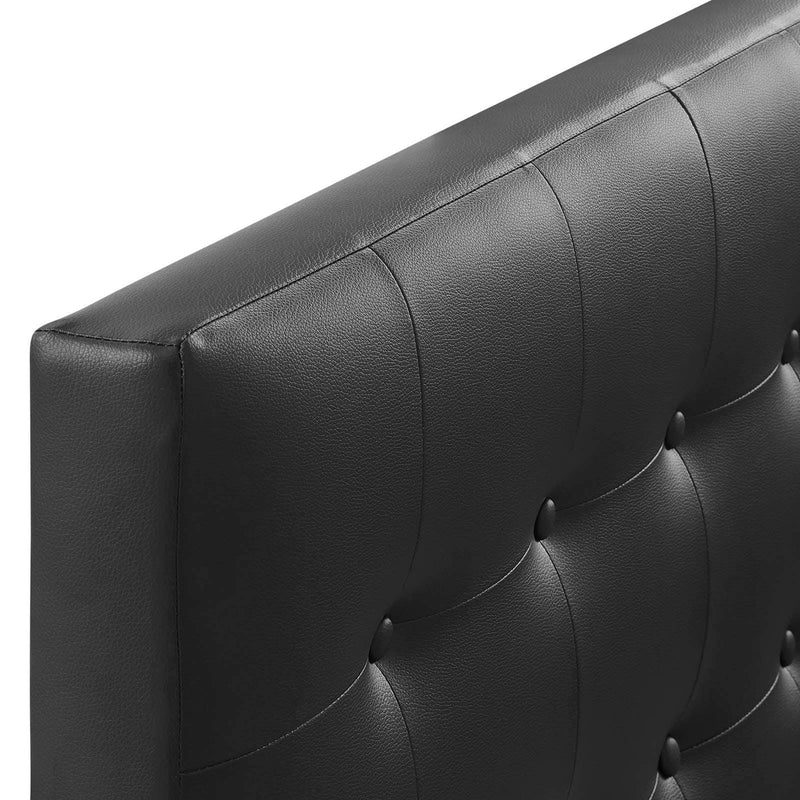 Emily Twin Upholstered Vinyl Headboard - What A Room