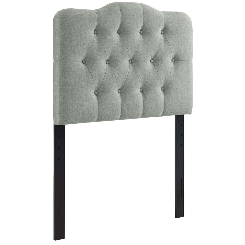 Annabel Twin Upholstered Fabric Headboard - What A Room Furniture