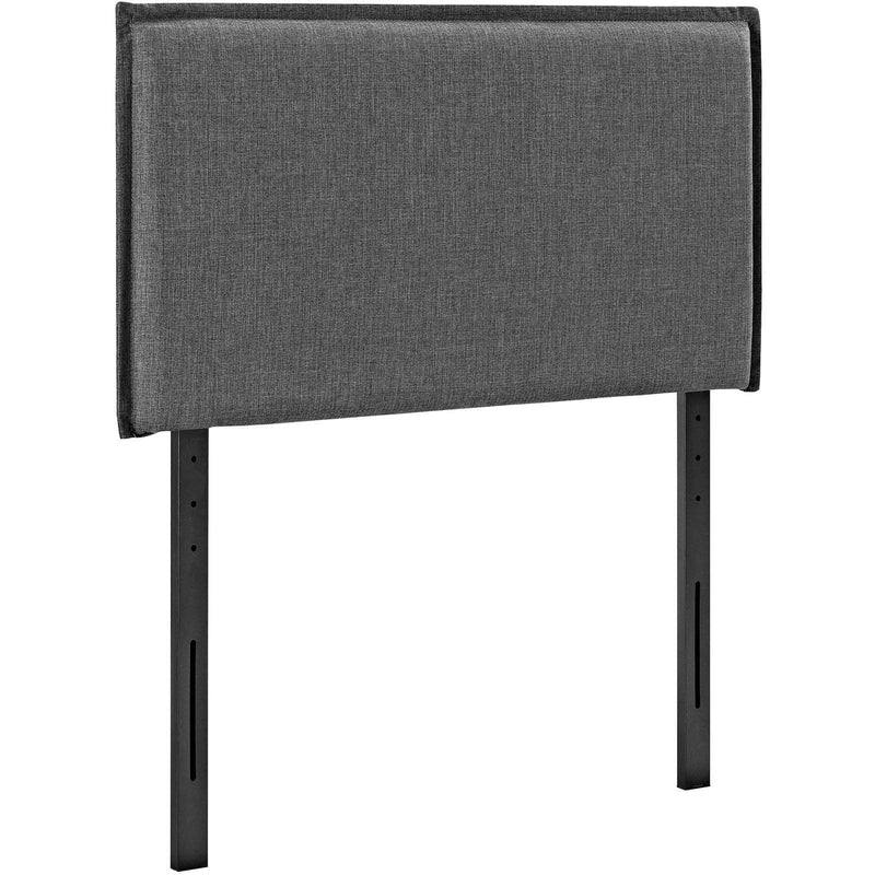 Camille Twin Upholstered Fabric Headboard - What A Room