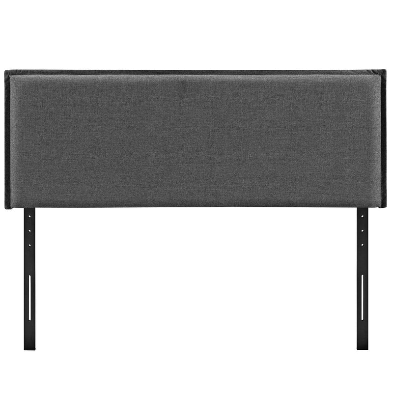 Camille Full Upholstered Fabric Headboard