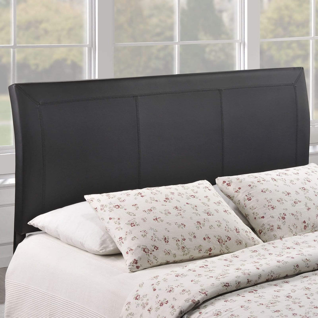 Isabella Queen Upholstered Vinyl Headboard - What A Room Furniture