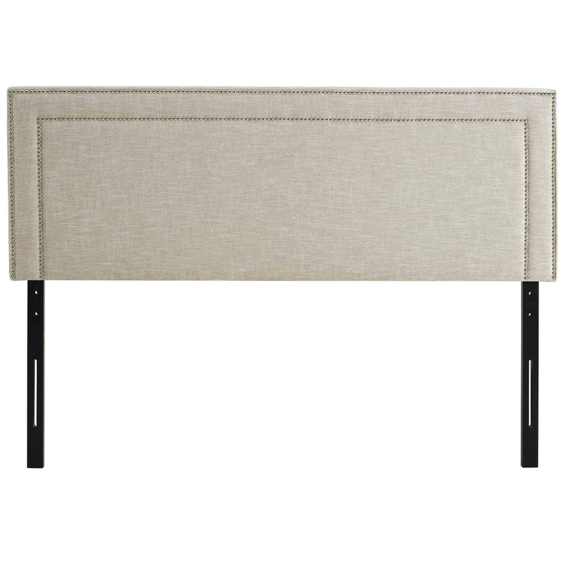 Jessamine Queen Upholstered Fabric Headboard - What A Room