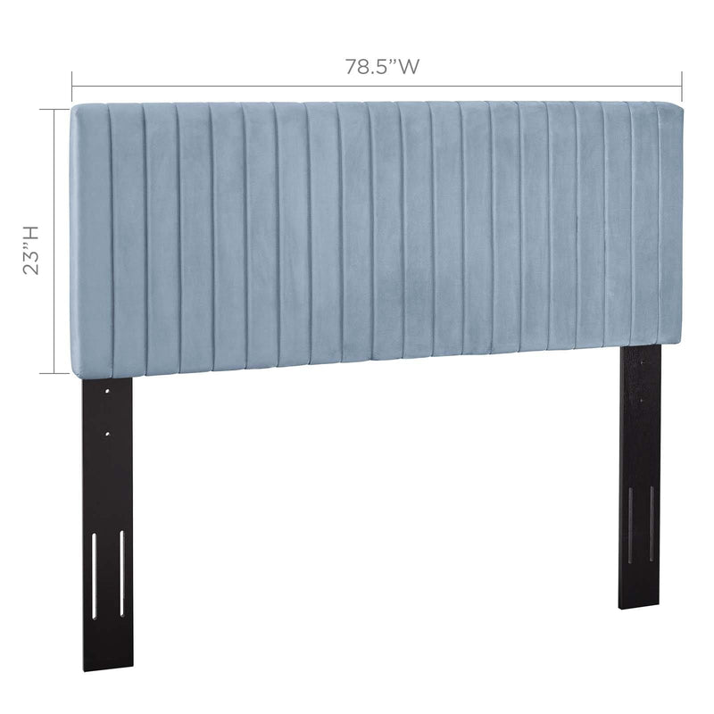 Keira King/California King Performance Velvet Headboard